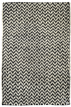 Herringbone Divisa Black/Bleach Rug