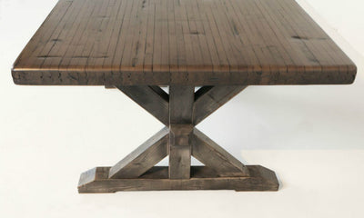 #UFD Signature Railcar K-Frame Farm Table