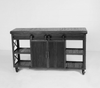 Urban Farmhouse Designs Signature Rolling Barn Door Entertainment Center