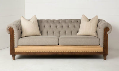 Urban Farmhouse Designs Farmhouse Deconstructed Sofa