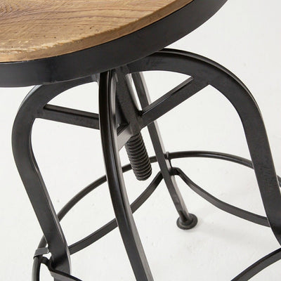 Urban Farmhouse Designs Round Top Stools
