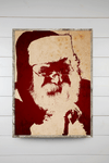 Santa on Canvas - Hush