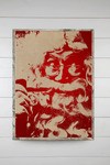 Santa on Canvas - Pipe