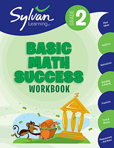 Basic Math Success Workbook (Sylvan Learning, Grade 2)