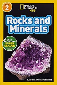 Nat Geo Reader Rocks and Minerals