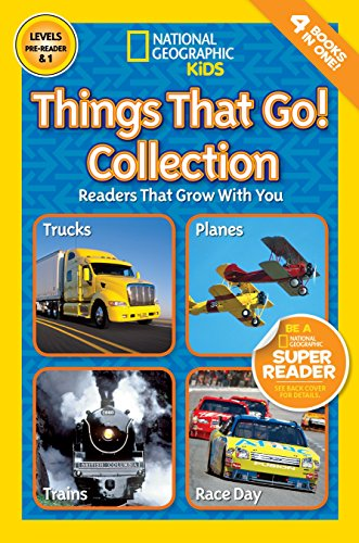 Nat Geo Reader Things That Go Collection