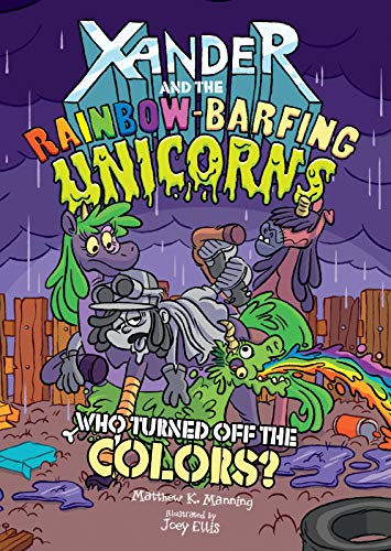 Xander Rainbow Barfing Unicorns