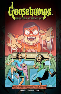 Goosebumps Graphic: Monsters