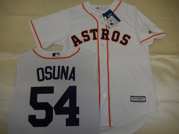 Majestic Houston Astros ROBERTO OSUNA Baseball Jersey WHITE