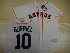 Majestic Houston Astros YULI GURRIEL Baseball Jersey WHITE