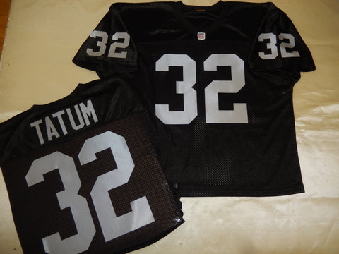 Oakland Raiders JACK TATUM Sewn Throwback Vintage Football Jersey BLACK