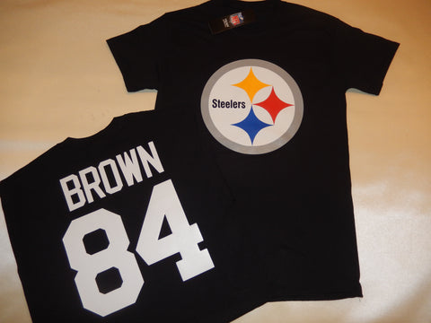 Pittsburgh Steelers ANTONIO BROWN Football Eligible Receiver Shirt