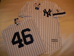 1995 New York Yankees Jersey ANDY PETTITTE WHITE P/S