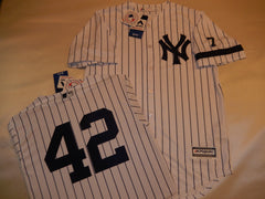 1995 New York Yankees Jersey MARIANO RIVERA WHITE P/S