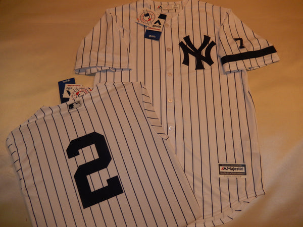 1995 New York Yankees Jersey DEREK JETER WHITE P/S