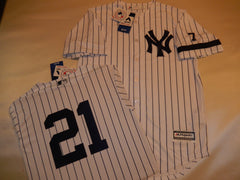 1995 New York Yankees Jersey PAUL O'NEILL WHITE P/S