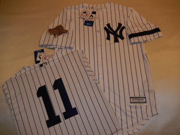 1996 New York Yankees World Series DWIGHT GOODEN Jersey WHITE P/S