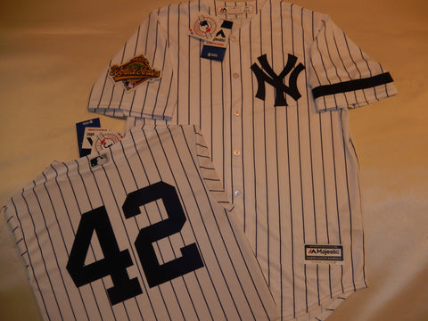 1996 New York Yankees World Series MARIANO RIVERA Jersey WHITE P/S