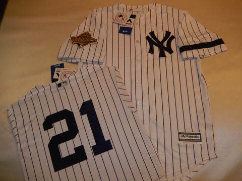 1996 New York Yankees World Series PAUL O'NEILL Jersey WHITE P/S
