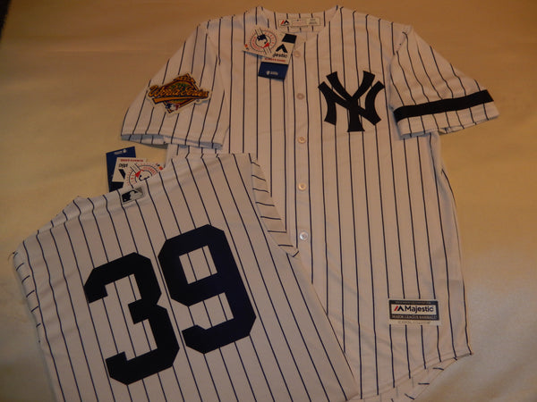 1996 New York Yankees World Series DARRYL STRAWBERRY Jersey WHITE P/S