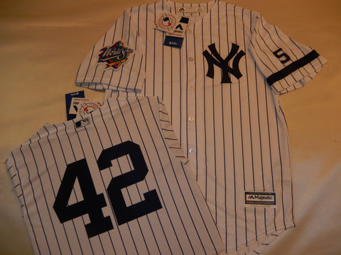 1999 New York Yankees World Series Jersey MARIANO RIVERA WHITE P/S