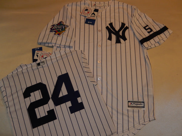 1999 New York Yankees World Series Jersey TINO MARTINEZ WHITE P/S