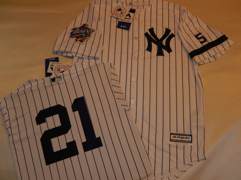 1999 New York Yankees World Series Jerseys