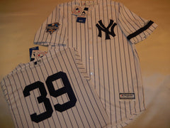 2000 New York Yankees World Series DARRYL STRAWBERRY Jersey WHITE P/S