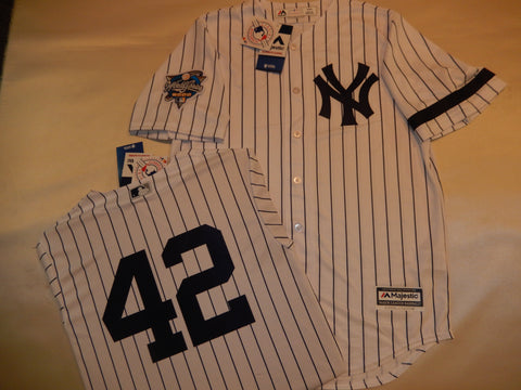 2000 New York Yankees World Series MARIANO RIVERA Jersey WHITE P/S