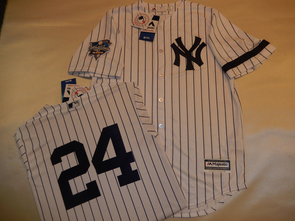 2000 New York Yankees World Series TINO MARTINEZ Jersey WHITE P/S