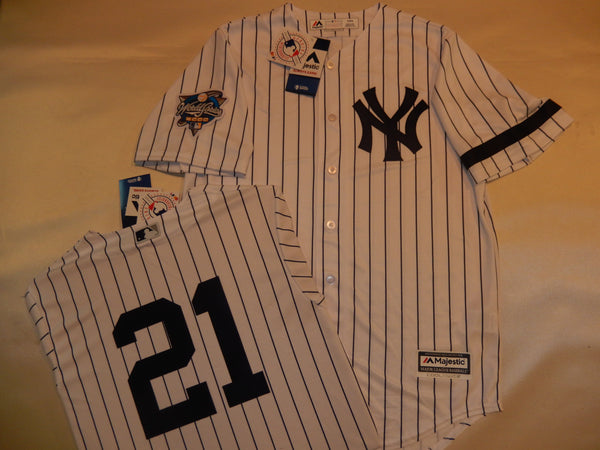2000 New York Yankees World Series PAUL O'NEILL Jersey WHITE P/S