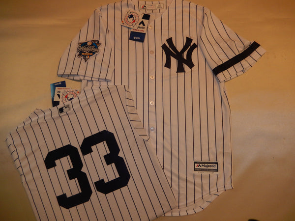 2000 New York Yankees World Series JOSE CANSECO Jersey WHITE P/S
