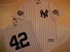 2009 New York Yankees World Series Jersey MARIANO RIVERA WHITE P/S