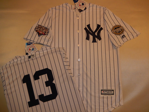 2009 New York Yankees World Series Jersey ALEX RODRIGUEZ WHITE P/S