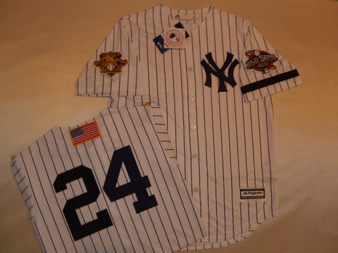 2001 New York Yankees World Series Jersey TINO MARTINEZ WHITE P/S