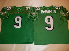 Philadelphia Eagles JIM McMAHON Sewn Throwback Vintage Football Jersey KELLY GREEN