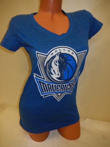 Womens DALLAS MAVERICKS Basketball Shirt BLUE