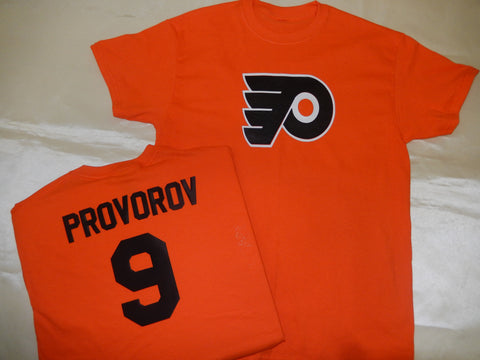 Philadelphia Flyers IVAN PROVOROV Hockey Jersey Shirt ORANGE