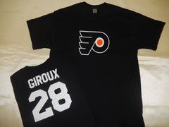 Philadelphia Flyers CLAUDE GIROUX Hockey Jersey Shirt BLACK