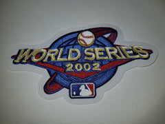 Anaheim Angeles vs San Francisco Giants 2002 World Series PATCH