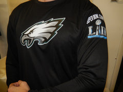 "Philadelphia Eagles ""Super Bowl 52 LII CHAMPIONS"" Dri Fit Long Sleeve Shirt"