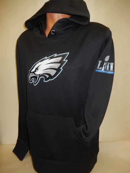 "Philadelphia Eagles ""Super Bowl 52 LII Logo"" Dri Fit Hooded Sweatshirt"
