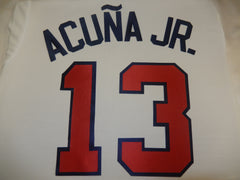 ATLANTA BRAVES Baseball Jersey Kit For White Jersey