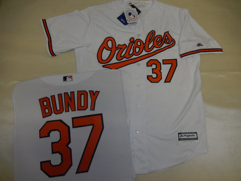 Majestic Baltimore Orioles DYLAN BUNDY Baseball Jersey White