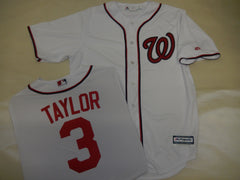 Majestic Washington Nationals MICHAEL TURNER Baseball Jersey White