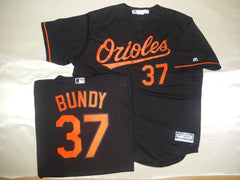 Majestic Baltimore Orioles DYLAN BUNDY Baseball Jersey BLACK