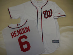 Majestic Washington Nationals ANTHONY RENDON Baseball Jersey White