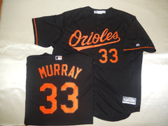 Majestic Baltimore Orioles EDDIE MURRAY Baseball Jersey BLACK
