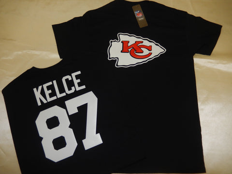 Kansas City Chiefs TRAVIS KELCE Football Eligible Receiver Shirt BLACK