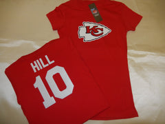 WOMENS Kansas City Chiefs TYREEK HILL Football Eligible Receiver Shirt RED